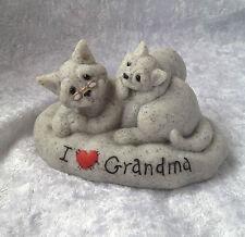 Quarry Critters I Love Grandma..Cats Figurine..BNIB