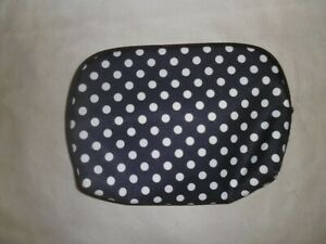 Tesco Black and White Spotted Make up Bag