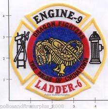 New York City NY Fire Dept Engine 9 Ladder 6 Patch v2