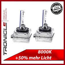 DUO-SET D1S 8000K Xenon Brenner Scheinwerfer Lampe Bulb NEU Tronicle TÜV FREI