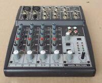 Behringer XENTYX  802 Premium 8- input 2-Bus Kompakt Mixer Mischpult - ungeprüft