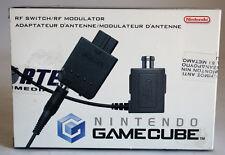 ORIGINAL 2002 NINTENDO GAMECUBE N64 SNES RF SWITCH MODULATOR GENUINE NEW MIB !