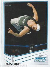 Hunico 2013 WWE Topps Triple Threat Trading Card #59 Smackdown