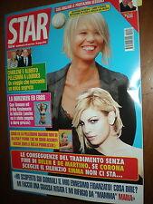 New Star.MARIA DE FILIPPI & EMMA MARRONE,MICHELLE HUNZIKER, FEDERICA PELLEGRINI