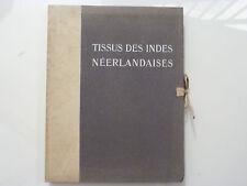 TISSUS DES INDES NÉERLANDAISES / DANIEL REAL / LIBRAIRIE DES ARTS DECORATIFS