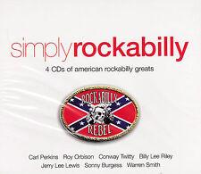 [BRAND NEW] 4CD: SIMPLY ROCKABILLY: VARIOUS ARTISTS