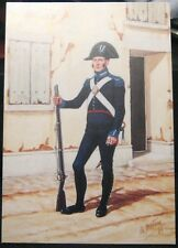Postcard Military The Carabinieri of Italy on Foot - unposted