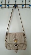 Marc by Marc Jacobs Beige Leather Shoulder Bag