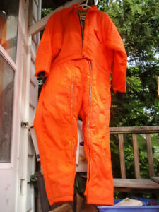 IDEAL INSULATED INDUSTRIAL COVERALLS ORANGE SIZE XL  46 - 48