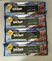4 x packs Tim Tams Crafted Collection Choc Murrary River Salted Double Choc