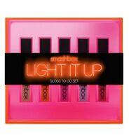 NEW*SMASHBOX LIGHT IT UP: GLOSSED TO GO SET