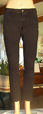OLD NAVY The Rock Star Jeans SIZE 6R Stretch Skinny Black Jeans W/28 L/28