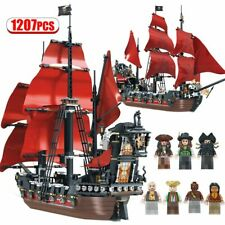 Pearl Ship Queen Anne's Revenge Pirates Caribbean Bricks Pirates Building Blocks