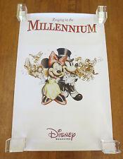Rare 1999 Disney Magazine Rinigng In The New Millennium Daniel Adel Poster