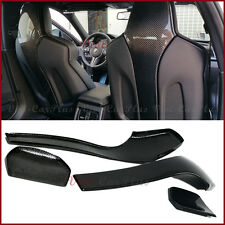 For 14+ BMW F80 M3 F82 F83 M4 Carbon Fiber Vacuum Seat Cover Protector 4PCS Kit