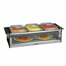 More details for global gourmet by sensio home hostess serving station with plate warmer