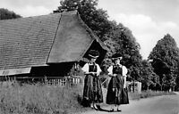 RPPC - Germany Traditional Dress Kimbacher und Gutachtalaer - Vintage POSTCARD