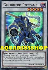 Yu-Gi-Oh Guerriero Rottame LC5D-IT029 SuperRaro in ITA Junk Warrior   Fortissimo