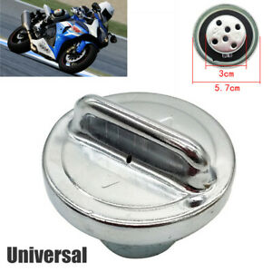 Universal Modified Scooter Motorcycle Fuel Gas Tank Cap Cover CNC Aluminum Alloy
