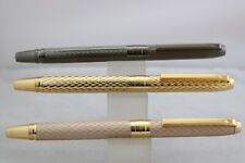 Hero H610 Machine Chased Fountain Pens 3 Finishes Uk Seller