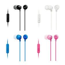 Sony MDR-EX15AP In-Ear Headphones Genuine Retail