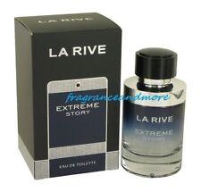 LA RIVE EXTREME STORY COLOGNE FOR MEN 2.5 OZ / 75 ML EAU DE TOILETTE SPRAY NIB