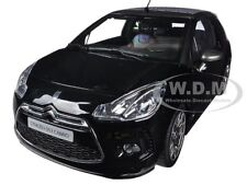 BoxDented 2013 CITROEN A56 ADS3 CABRIO BLACK 1/18 DIECAST MODEL BY NOREV 181545