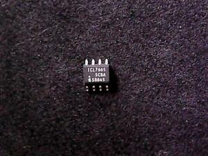 ICL7665SCBA - Intersil Over/Under Voltage Detector (SOIC-8)