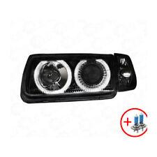 2 x Scheinwerfer VW Polo 6N 95-98 Angel Eyes black / schwarz 1100371