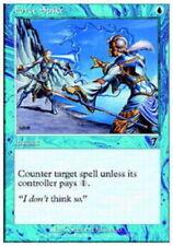 MTG magic cards 1x x1 NM-Mint, English Force Spike - Foil 7th Edition