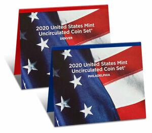 2020 US Mint Uncirculated Coin Set GEM BU