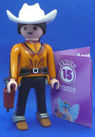 Playmobil MH-8 Series-15 Girls 70026 Cowgirl Western Woman Figure