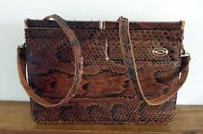 Vintage Snakeskin? Python Shoulder Bag Or Clutch Bag