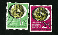 Germany Stamps # B316-17 VF Used Catalog Value $85.00