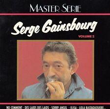 "CD ALBUM SERGE GAINSBOURG  ""NO COMMENT"""