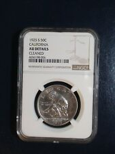 1925 S CALIFORNIA COMMEMORATIVE HALF NGC AU SILVER 50C Coin PRICED TO SELL!