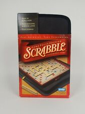 Scrabble Game Folio Edition 2001 Travel Vacation Play Anywhere ~ NEW in Box