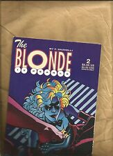The Blonde Twelve Pearls 2 1996 Bad Girl F.Saudelli Fantagraphics books