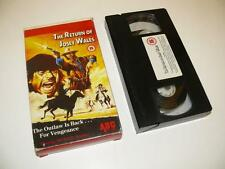 VHS Video ~ The Return of Josey Wales ~ Michael Parks/ABC Films ~ Card Packaging