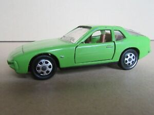 22R 1978'S Mebetoys Mattel A93 Made IN Italy Porsche 924 Coupé Apple Green 1:43