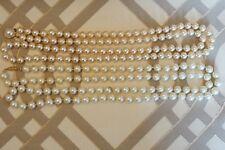 COPPIA di Donna Costume da Monet Pearl Style collane 18 pollici Job Lotto Bundle!!!