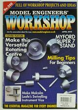 Model Engineers Workshop Rotating Centre Projects Idea April 2016 FREE SHIPPING