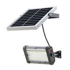 Solar Flood Light 20W Wide Lighting Shed light barn light w/ remote Control