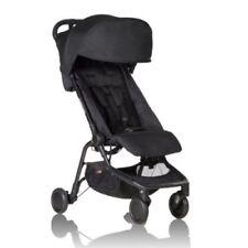 Mountain Buggy Nano Lightweight Compact Stroller - Black