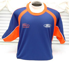 Ford Racing European Rally Cross Mse Jersey Feel The Difference Shirt Mens-Xxl