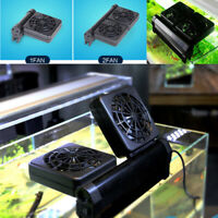 Aquarium Fish Tank Supply Cold Wind Cooler-Mini Nano Cooling Fan Hang