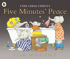 Five Minutes Peace by Jill Murphy Large Family Paperback Childrens NEW BOOK