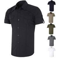 Men's Polo Shirt Plain T Shirt - 6COLORS - S,M,L,XL -  Short Sleeve Shirt NEW PJ