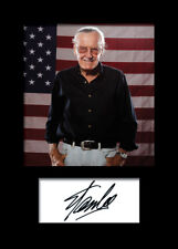 STAN LEE #2 Signed Photo Print A5 Mounted Photo Print - FREE DELIVERY
