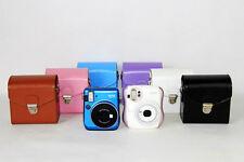 PU Leather Camera Case Cover Set For Fujifilm Instax Mini 90 8 50S 25 70 Mini 7S